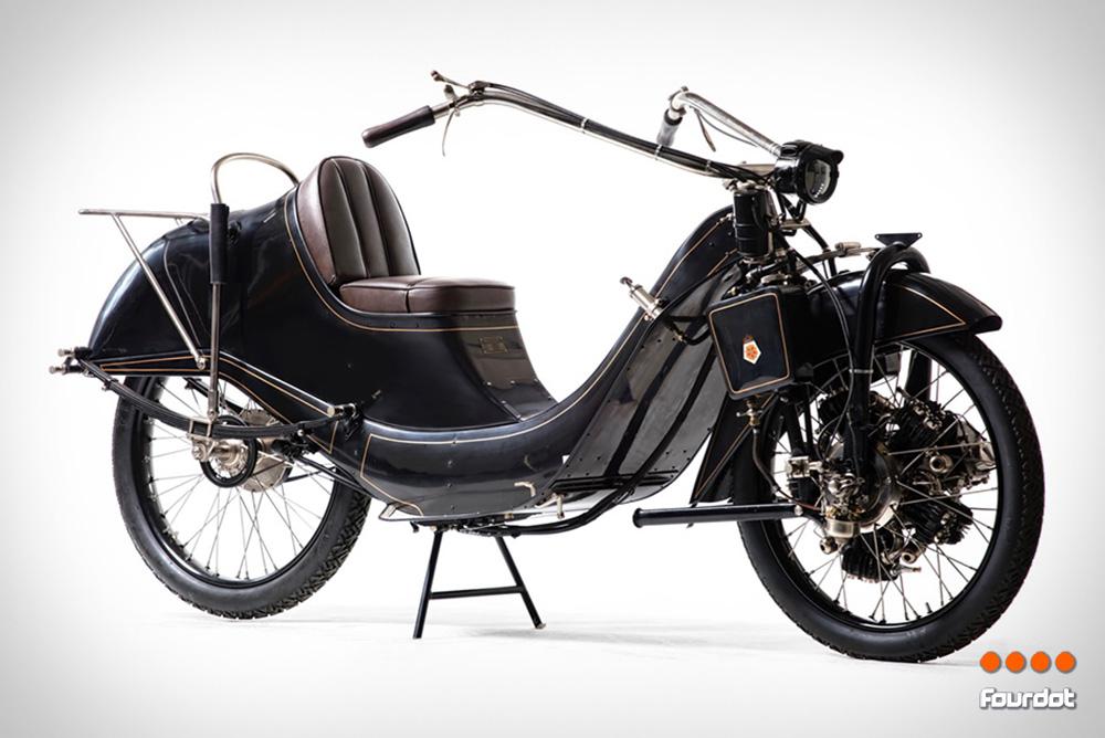 1921 Megola 640CC Touring Motorcycle