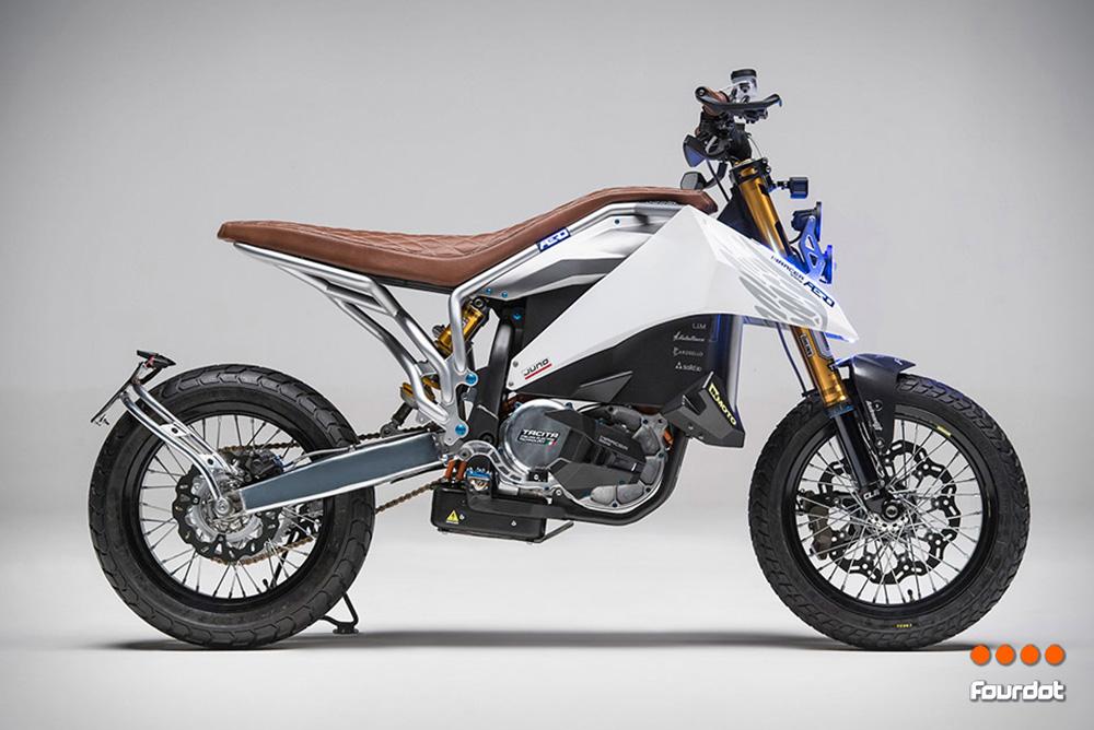 Aero E-Racer Motorcycle