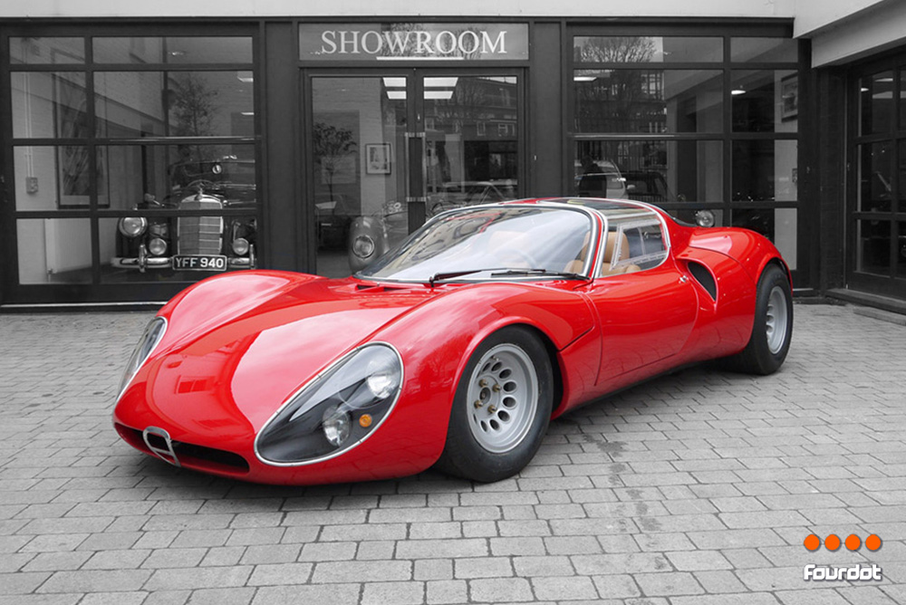 The 1967 Alfa Romeo Tipo 33 Stradale