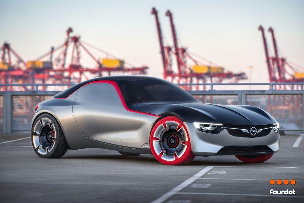 New Opel GT Concept