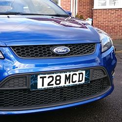 custom number plate