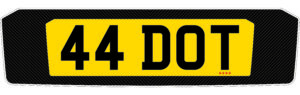 bmw m4 number plate