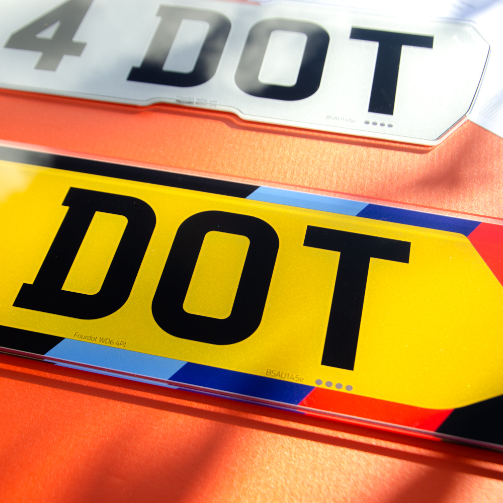 what is a legal number plate?